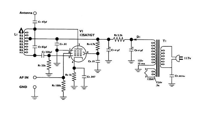 3 tube transmitter